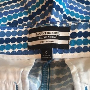 Banana Republic Shorts - Banana Republic Marimekko shorts